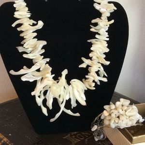 Jewelry - Treasures From The Sea Necklace mother of pearl.